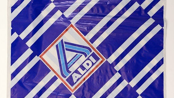 Plastiktüte von Aldi