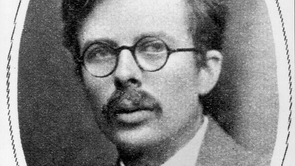 """Aldous Huxley, Autor von """"Brave New World"""" ."""