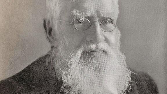 Naturforscher Alfred Russel Wallace.