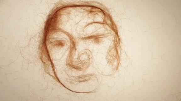 Ausschnitt eines Trickfilms der Künstlerin Alma Weber