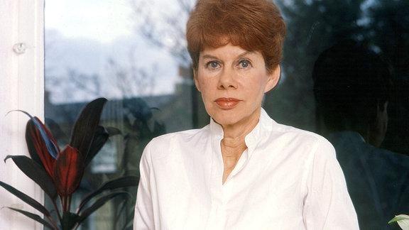 Die englische Autorin Anita Brookner im Jahr 2005.