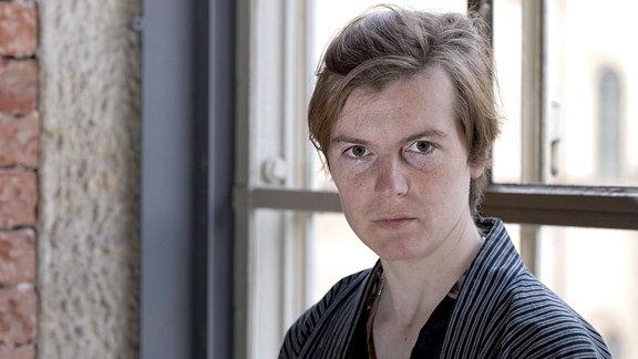 Schriftstellerin Ann Cotten, 2014