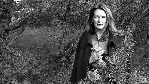 Die französische Autorin Annie Ernaux