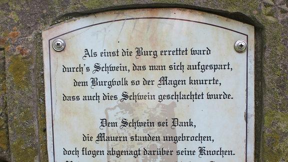 Burgruine Bornstedt, Mansfelder Land