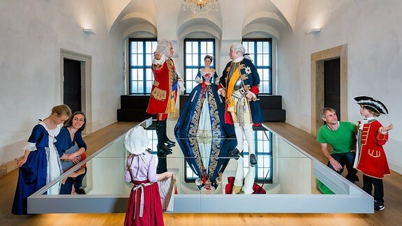 Kinderangebote auf der Festung Königstein