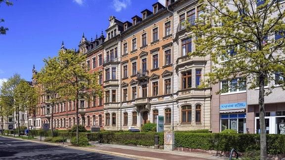 Gründerzeit- und Jugendstilviertel in Chemnitz DRU/Sachsen