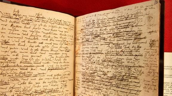 475 Jahre Lutherbibel , Sonderausstellung auf der Wartburg