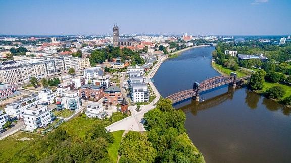 Magdeburg Luftbild