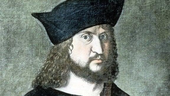 Gustav Adolf Martin Luthers Freund und Gönner, Friedrich III., der Weise von Sachsen.