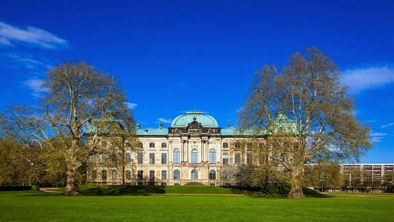Das Japanische Palais in der Inneren Neustadt von Dresden.