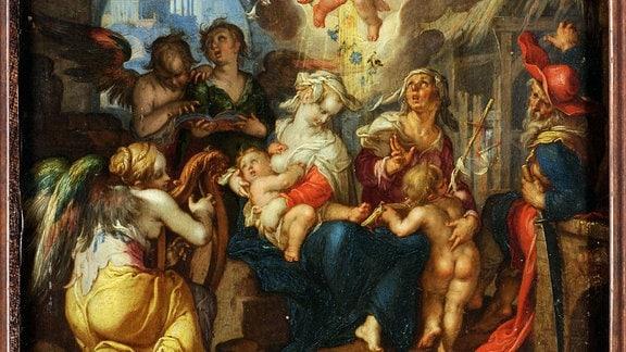 """""""Die Heilige Familie"""" von Joachim Wtewael"""