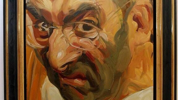 Selbstportrait von Johannes Grützke