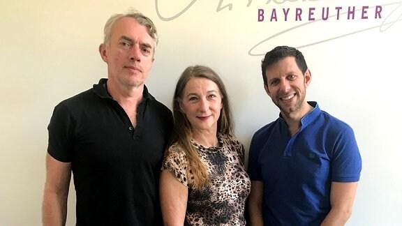 Neo Rauch, Rosa Loy und Yuval Sharon