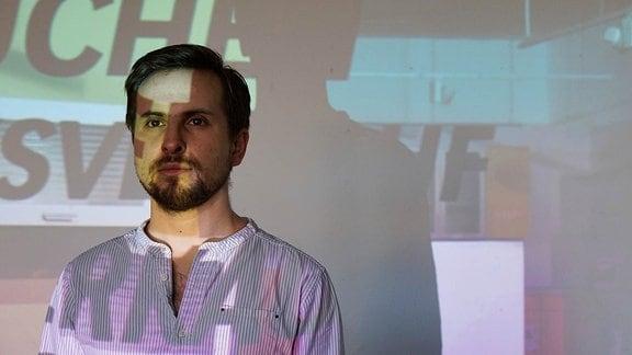 Videokünstler Jakub Šimčik