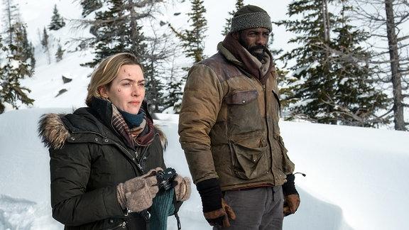 Szene aus dem Film - Zwischen zwei Leben -The Mountain Between Us