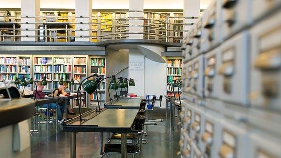 Lesesaal Naturwissenschaften der Deutschen Nationalbibliothek