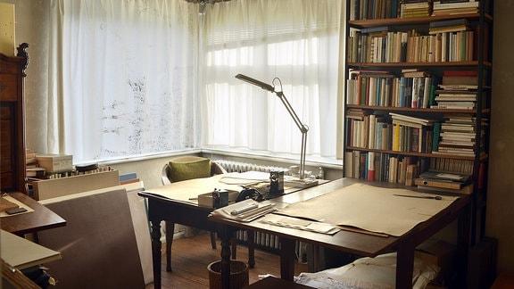 Ehemaliges Arbeitszimmer des Malers Gerhard Altenbourg
