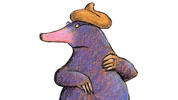 Illustration Vom kleinen Maulwurf, der wissen wollte, wer ihm auf den Kopf gemacht hat