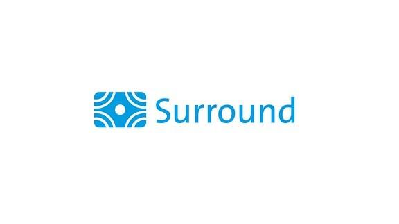 Logo für Sendungen in Mehrkanalton Dolby Digital-Surround 5.1