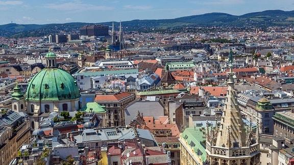 Panorama der Stadt Wien