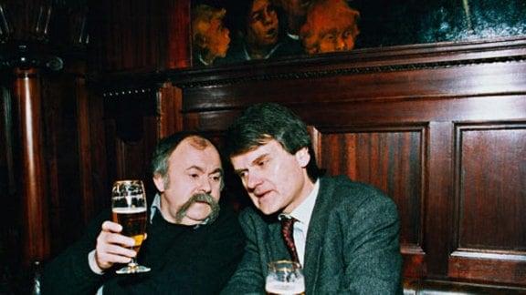 Gunter Böhnke und Bernd-Lutz Lange