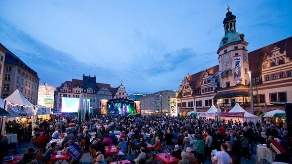 Aufgang (re-)plays Bach auf dem Markt
