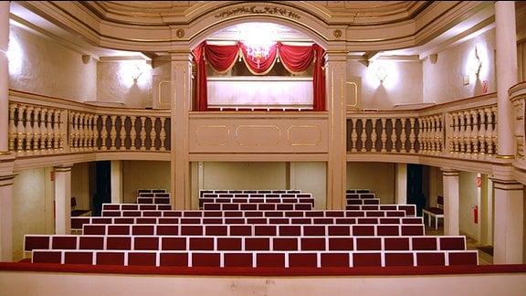 Der Zuschauerraum des Ekhof-Theater in Gotha/ Foto: Adrian Leeder