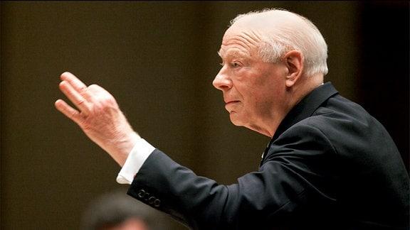 Der Dirigent Bernhard Haitink