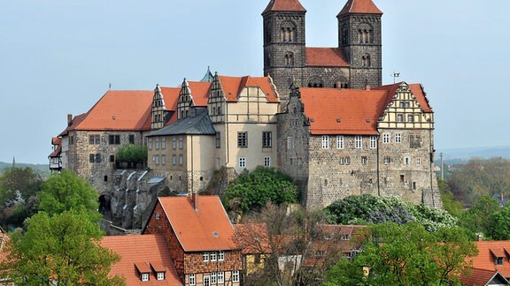 Die Stiftskirche in Quedlinburg