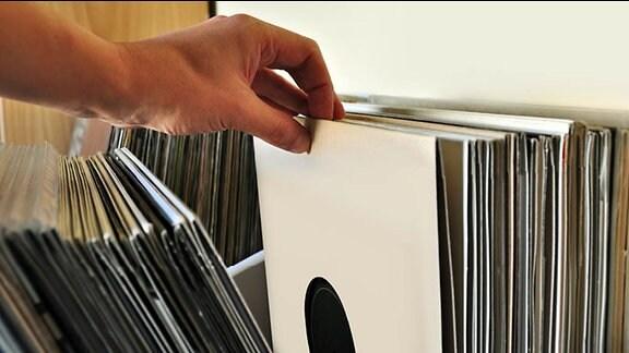 Schallplatten, Musik, Platten, Plattensammlung, DJ