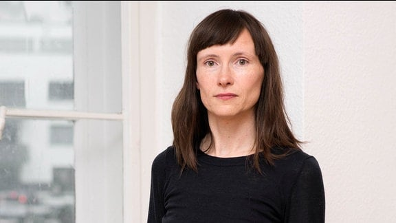 Die Schriftstellerin Heike Geißler