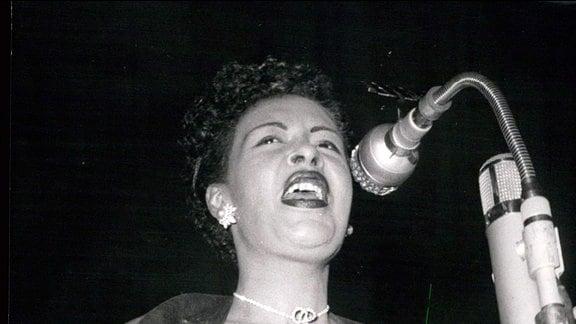 Die Jazzsängerinnen Billie Holiday