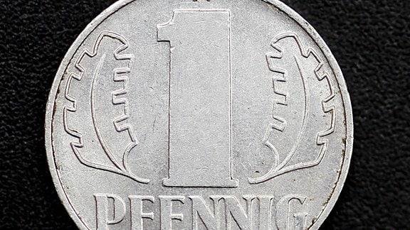 Ein DDR-Pfennig