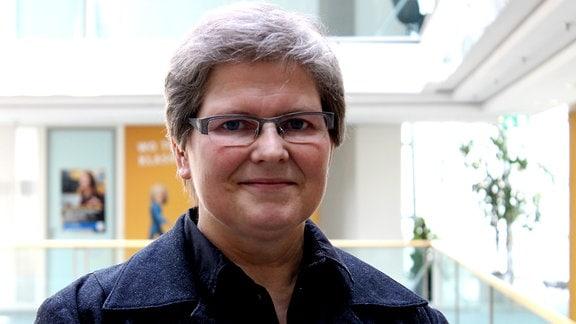 Die Landesbeauftragte für die Stasi-Unterlagen in Sachsen-Anhalt, Birgit Neumann-Becker