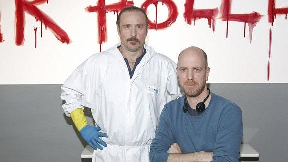 Bjarne Mädel und Arne Feldhusen