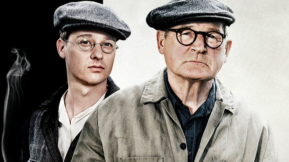 Brecht-Darsteller Tom Schilling und Burghart Klaußner