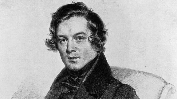 Robert Schumann, Lithographie