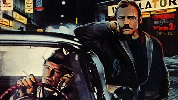 Dennis Hopper und Bruno Ganz, 1977