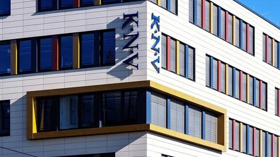 Der Firmensitz des größten Buchgroßhändlers im deutschsprachigen Raum Koch, Neff & Volckmar GmbH (KNV) in Stuttgart.