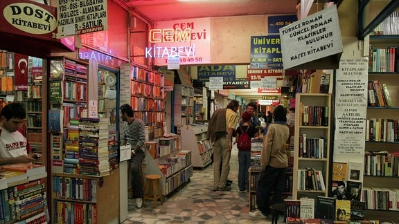 Bücherpassage in Kadiköy in Istanbul
