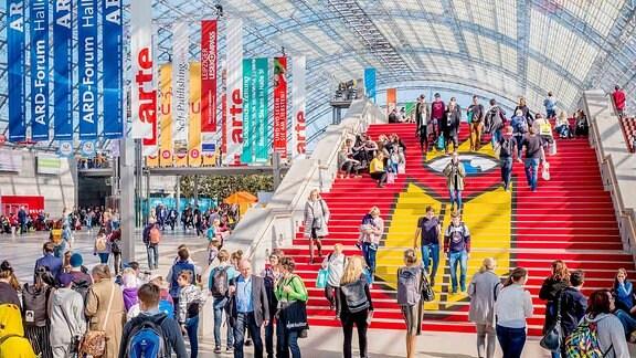 Impressionen von der Leipziger Buchmesse 2019
