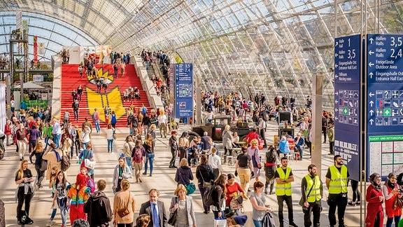 Impressionen von der Leipziger Buchmesse