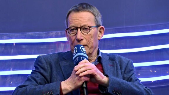 Buchmesse 2018 - Friedrich Christian Delius