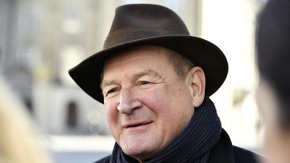 Schauspieler Burghart Klaußner