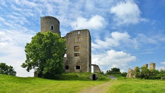 Ruine der Burg Arnstein