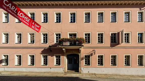 Gebäude der Carl Lohse Galerie in Bischofswerda.