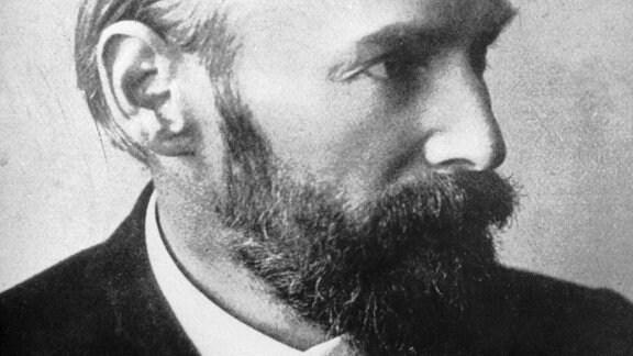 Undatierte Aufnahme des deutschen Schriftstellers Christian Morgenstern (1871 - 1914)
