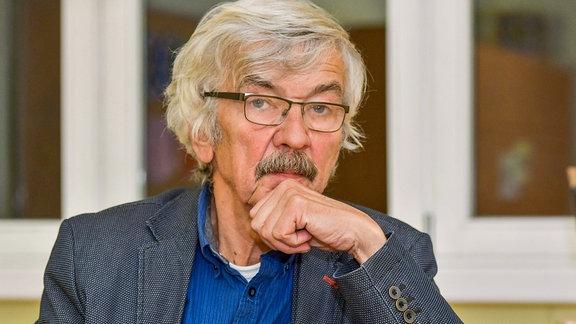 Der Autor und Schriftsteller Christoph Hein.