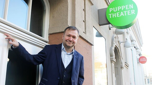 Christoph Werner, Intendant des Puppentheaters Halle