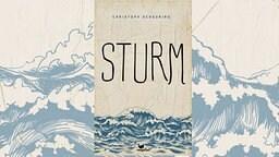 """Das Cover des Romans """"Sturm"""" von Christoph Scheuring."""